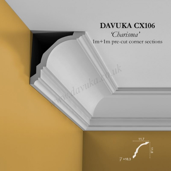 Davuka CX106 corners