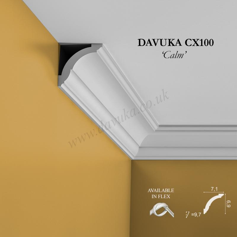 Coving Profiles From Davuka Grp The Uk Centre For Decorative Mouldings