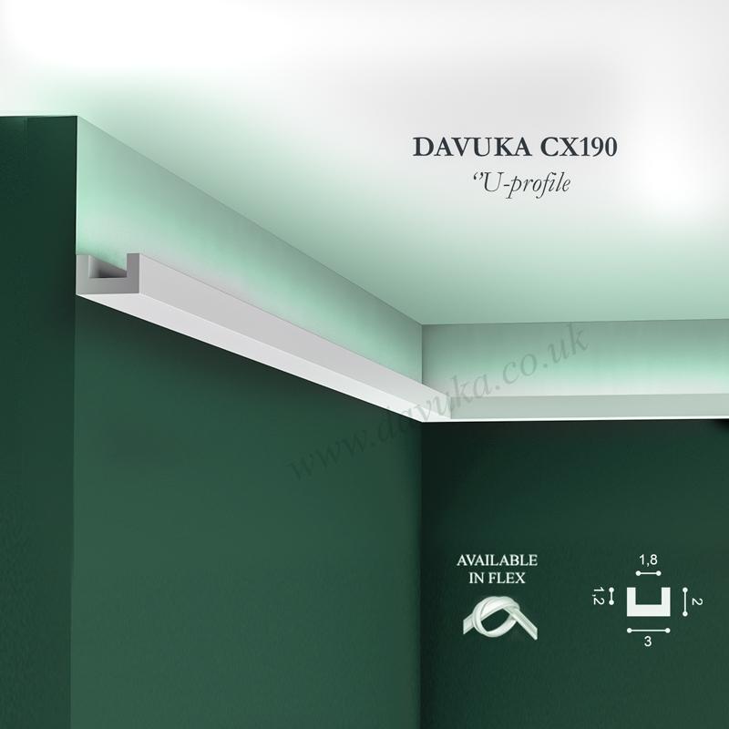 C351 boat lighting coving Orac Decor Cx190 you Davuka Uplighting Cornice C351