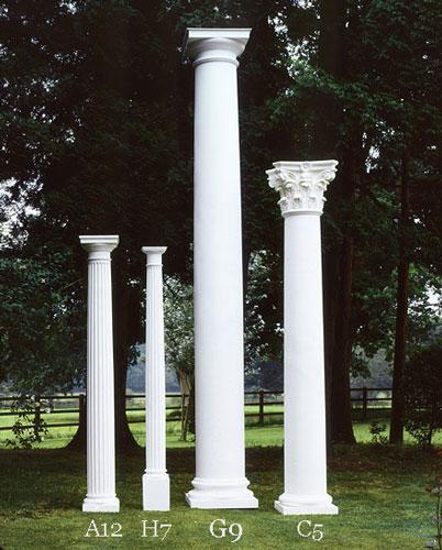 C5 column for Decorative columns exterior